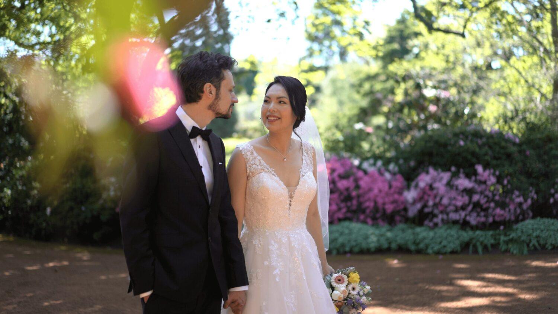bride and groom at Bendooley Estate | Berrima Southern Highlands